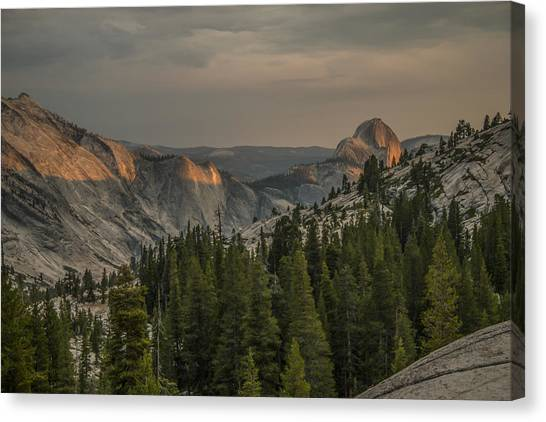 An Evening At Olmstead Point - Pt 3 Canvas Print