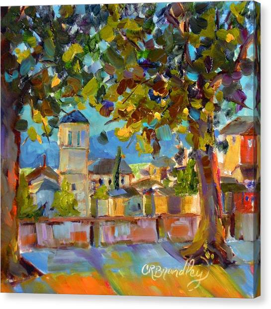 An Evening In Assisi Canvas Print