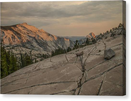 An Evening On Olmstead Point - Pt 1 Canvas Print