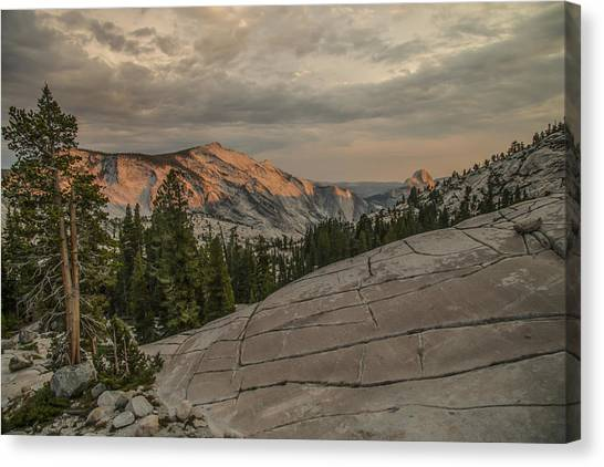 An Evening On Olmstead Point - Pt 2 Canvas Print