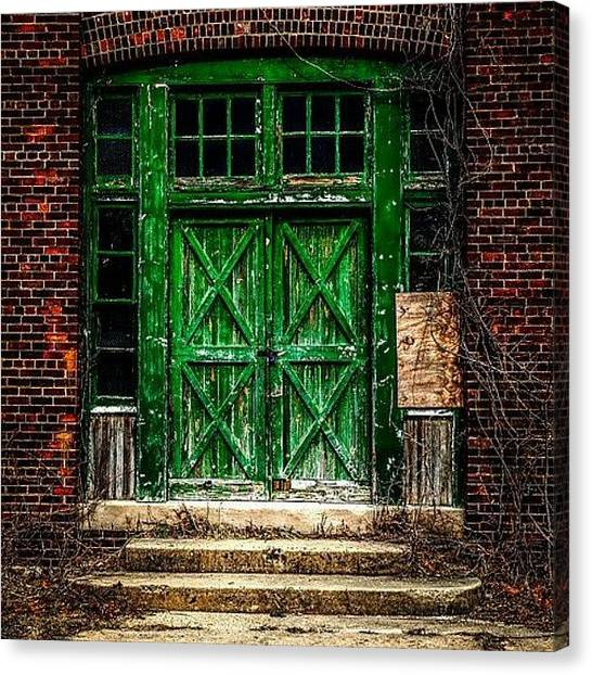 Image Canvas Print - An Example Of Urban Decay Photography by Erin Cadigan