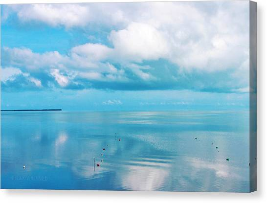 An Ocean Like Glass Canvas Print