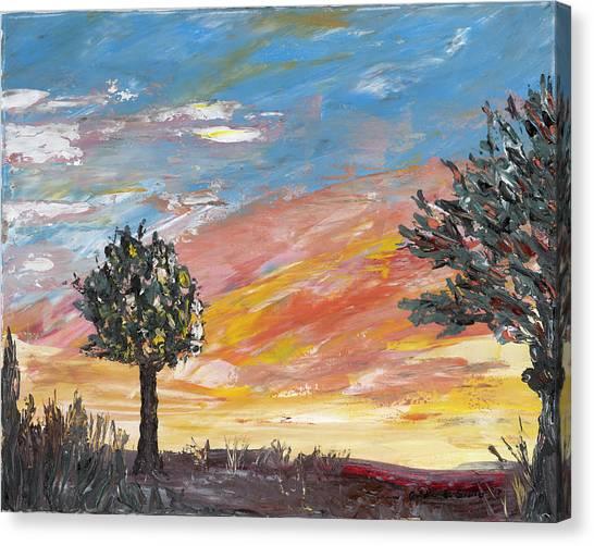 An Ohio Sunset Canvas Print