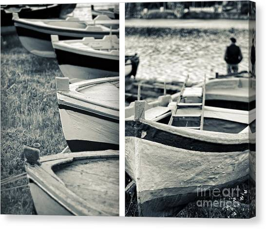 An Old Man's Boats Canvas Print