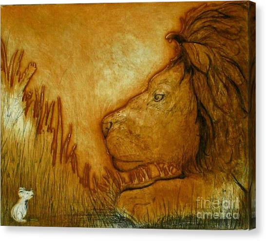 An Understanding Canvas Print by Susan Clausen