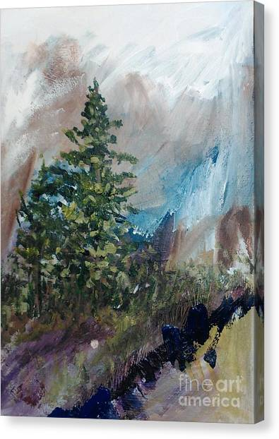 An Yosemite Afternoon Canvas Print
