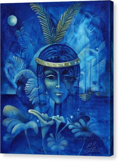 Anacaona Canvas Print by Elie Lescot