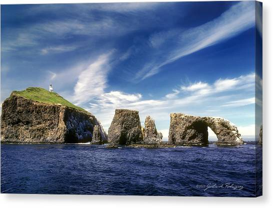 Channel Islands National Park - Anacapa Island Canvas Print