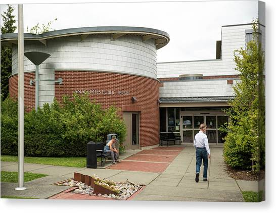 Anacortes Public Library Canvas Print