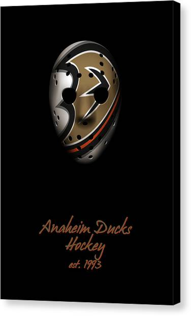Anaheim Ducks Canvas Print - Anaheim Ducks Established by Joe Hamilton