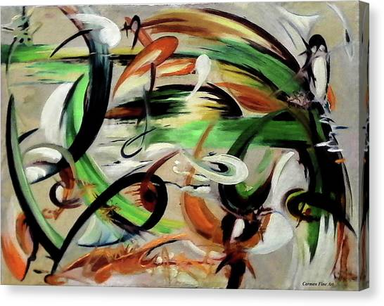 Canvas Print - Analysis And Sentiment by Carmen Fine Art