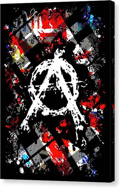 Anarchy Punk Canvas Print