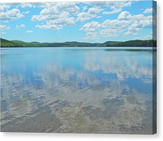 Anasagunticook Lake, Canton, Me, Usa 10 Canvas Print