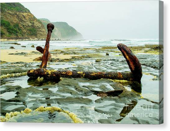 Anchor At Rest Canvas Print