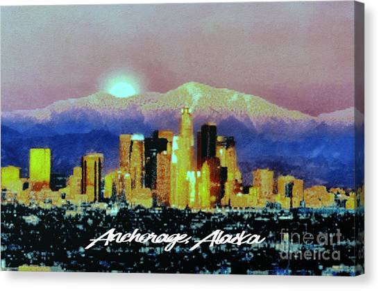 Anchorage-subdued Canvas Print