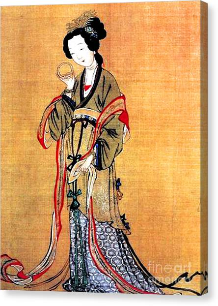 Ancient Chinese Painting Canvas Print