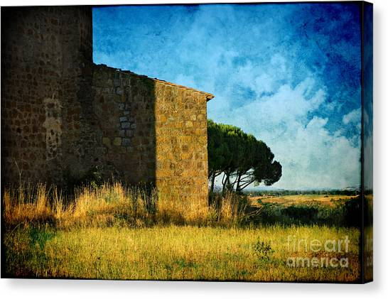 Ancient Church - Italy Canvas Print
