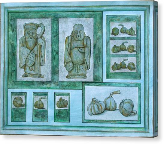 Ancient Cures Canvas Print by Sandy Clift