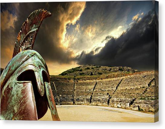 Ancient Greece Canvas Print