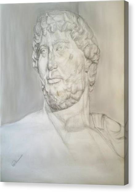 Ancient Greek Statue Canvas Print