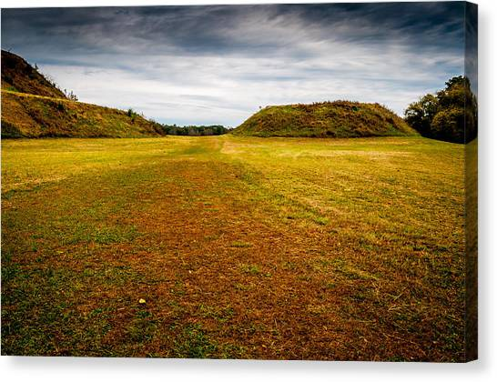 Ancient Indian Burial Ground  Canvas Print