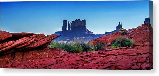Red Rock Canvas Print - Ancient Monoliths by Az Jackson