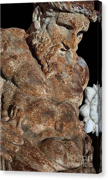 ancient nudes photograph - Atlas Shrugged Canvas Print