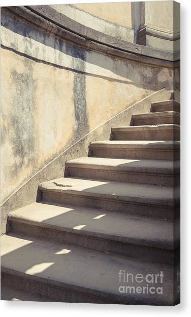 Stair Canvas Print - Ancient Stairs by Edward Fielding