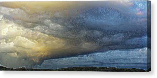 And Then It Rained . . . Canvas Print
