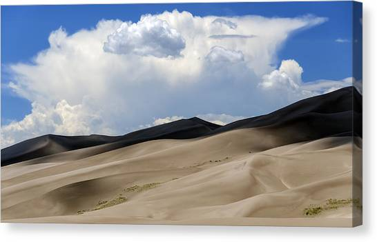 And Then The Storm Canvas Print