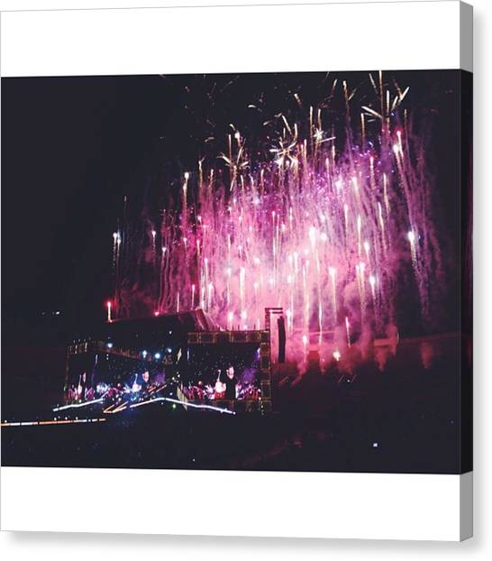 One Direction Canvas Print - And We Danced All Night... by Alisia Gutierrez