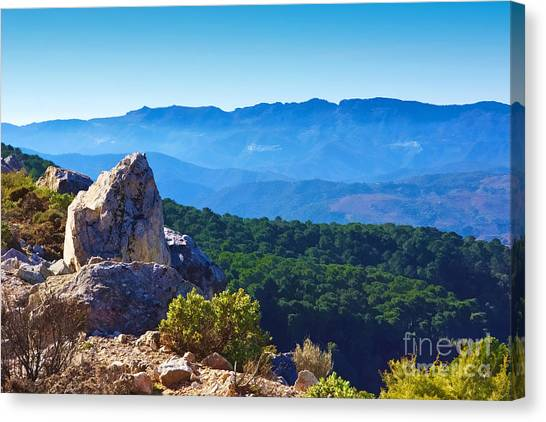 Andalusia Canvas Print - Andalucia Spain by Lutz Baar