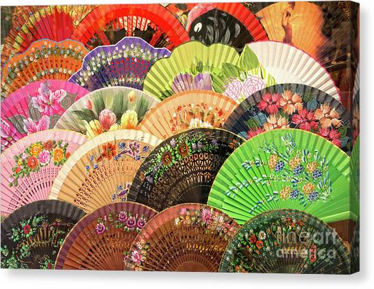 Flamenco Canvas Print - Andalusia Colors by Delphimages Photo Creations