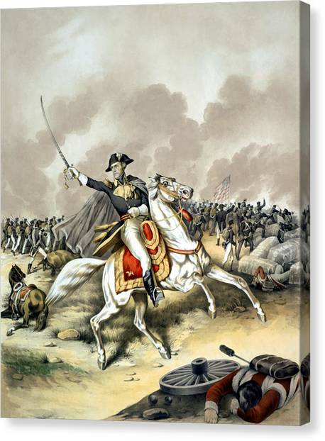 War Horse Canvas Print - Andrew Jackson At The Battle Of New Orleans by War Is Hell Store