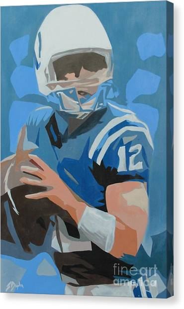 Andrew Luck II Canvas Print