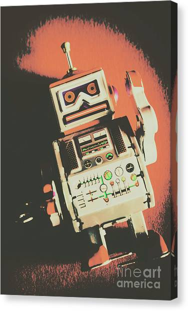 Machinery Canvas Print - Android Short Circuit  by Jorgo Photography - Wall Art Gallery