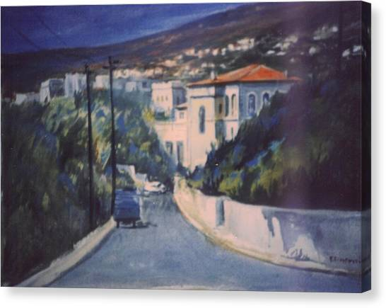 Andros Canvas Print by George Siaba
