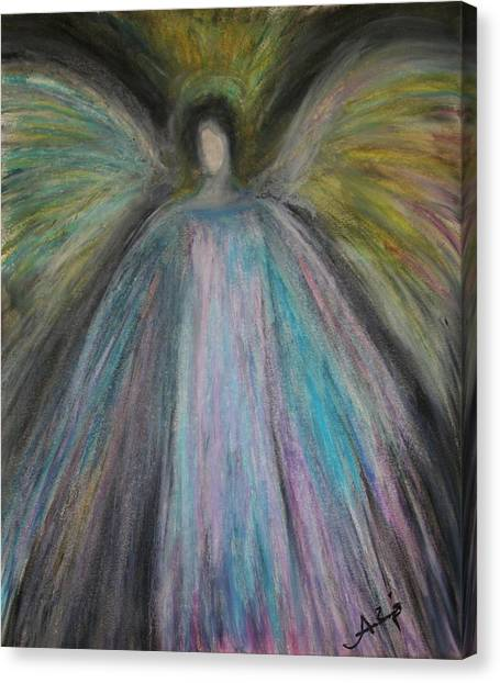 Angel-1 Canvas Print