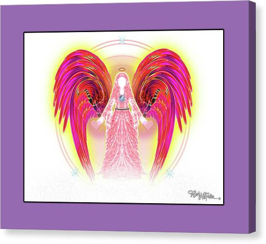 Angel #199 Canvas Print