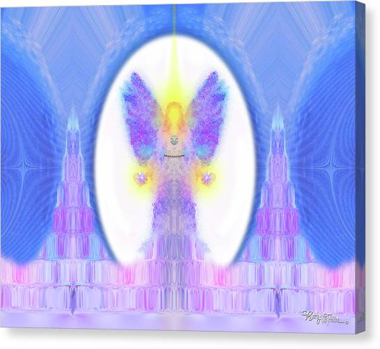 Angel Crystals 444 Canvas Print