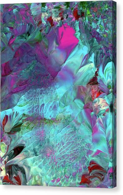 Angel Daphne Flowers #2 Canvas Print