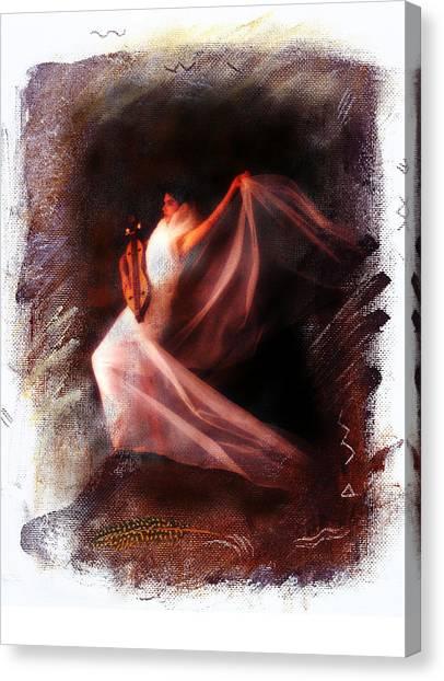 Ballet Angel Canvas Print