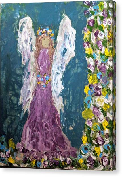 Angel Diva Canvas Print