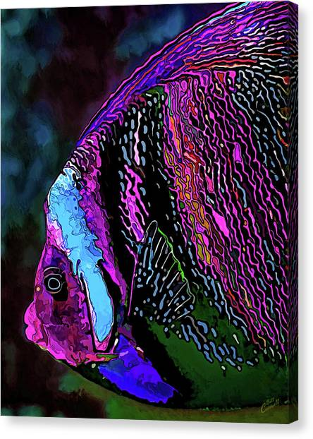 Angel Face 1 Canvas Print