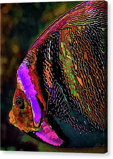 Angel Face 2 Canvas Print