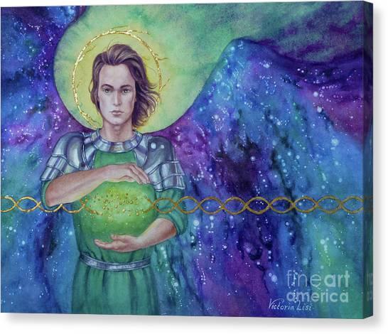 Angel Fire  Canvas Print