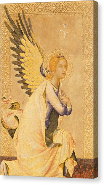 Angel Wings Canvas Print - Angel Gabriel  by Simone Martini