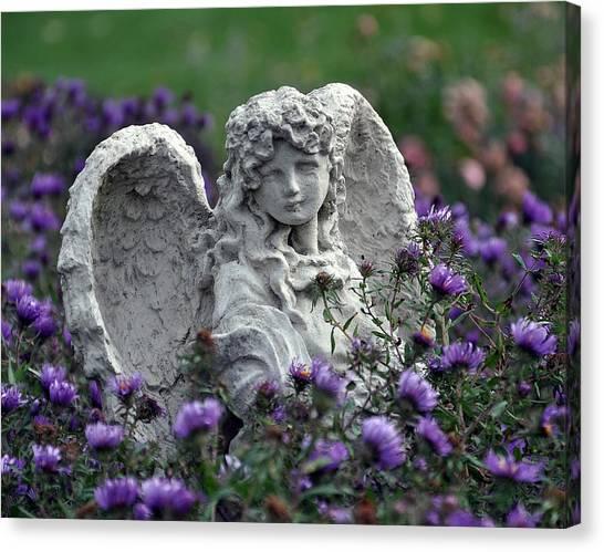 Angel Canvas Print by Gwen Allen