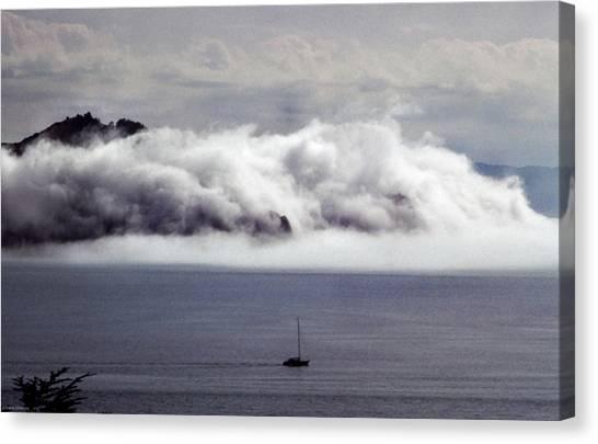 Angel Island Fog Canvas Print