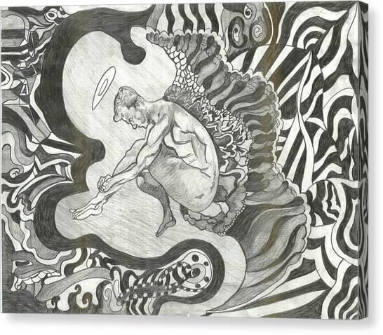 Angel Canvas Print by Joseph  Arico